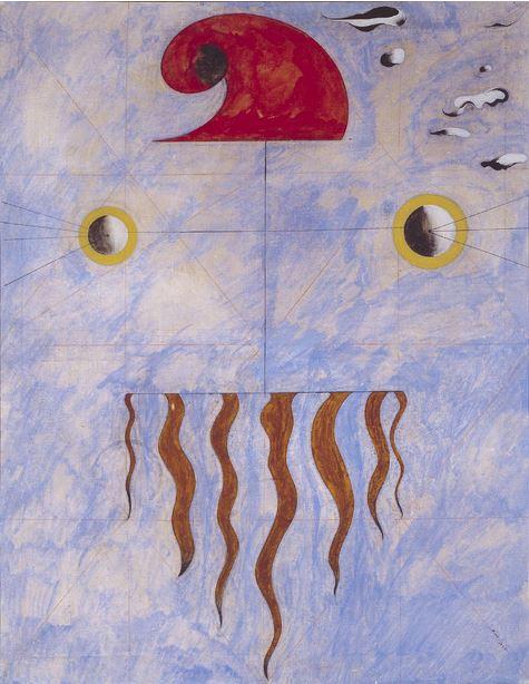 Miró, Head of a Catalan Peasant, 1925
