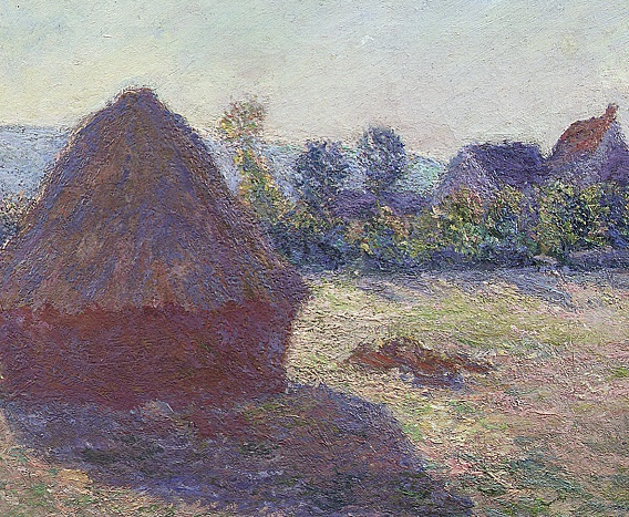 Claude Monet, A Haystack in the Evening Sun, 1891