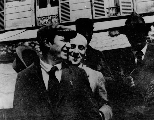 Jean Cocteau, 'Devant la Rotonde, Picasso, Max Jacob', 1916 © ProLitteris, Zurich, 2014