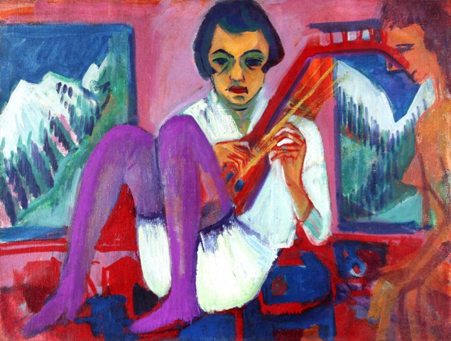 Image result for ernst ludwig kirchner paintings