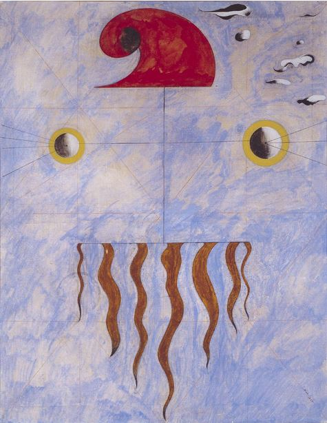 Miró, head of a catalan peasant_1925