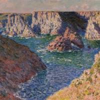 Claude Monet, 'Les rochers de Belle-Isle', 1886