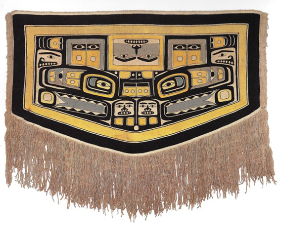 Shoulder Blanket ('Chilkat Blanket'), Southern Alaska
